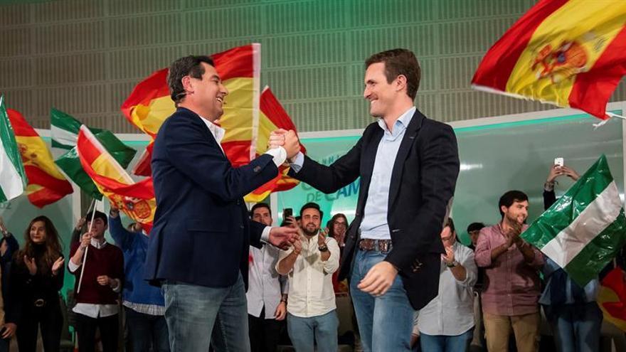 """Moreno apela al """"voto ético"""" para """"barrer Andalucía de chorizos"""""""