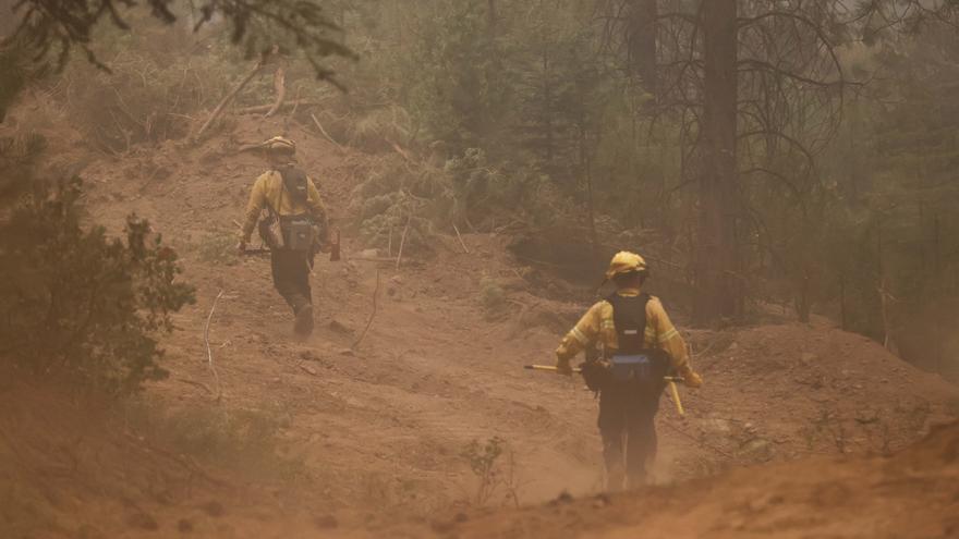 Un nuevo incendio en California se multiplica por 24 en las últimas horas