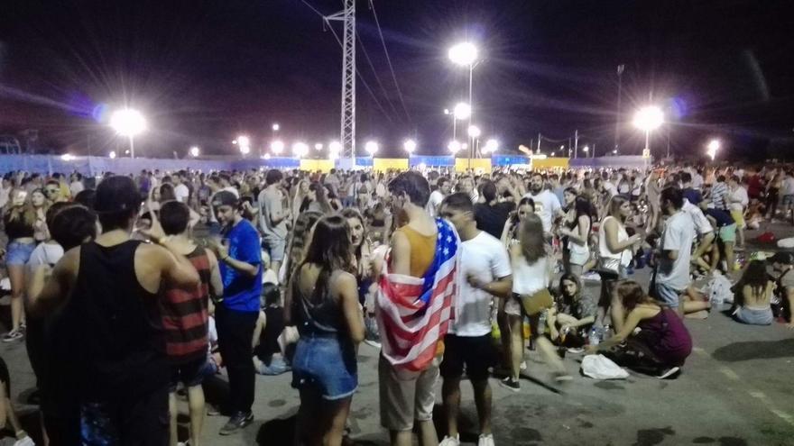 Miles de extranjeros disfrutan estos días de los conciertos del FIB.