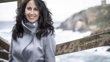 María Oruña será una de las protagonistas de la Feria del Libro de Santander. |