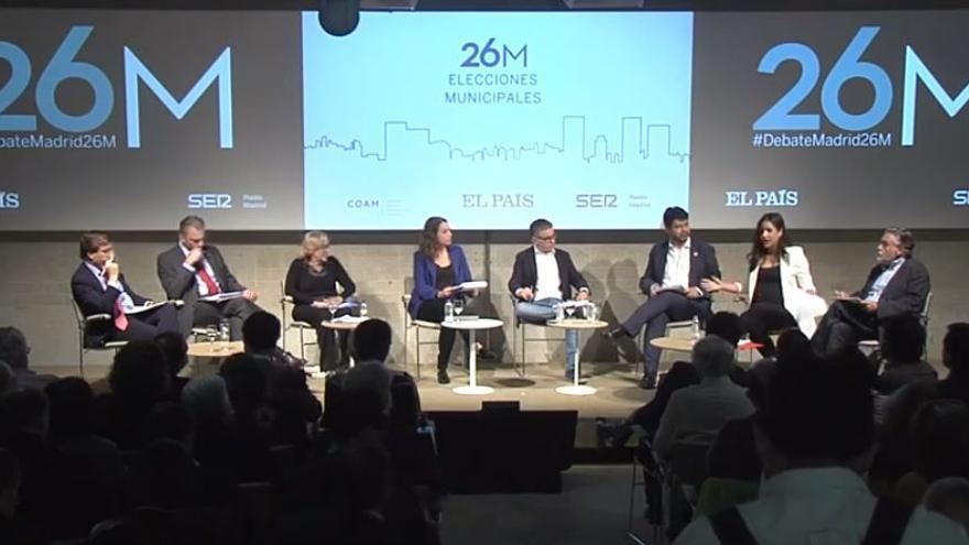 Debate Ayuntamiento Madrid.