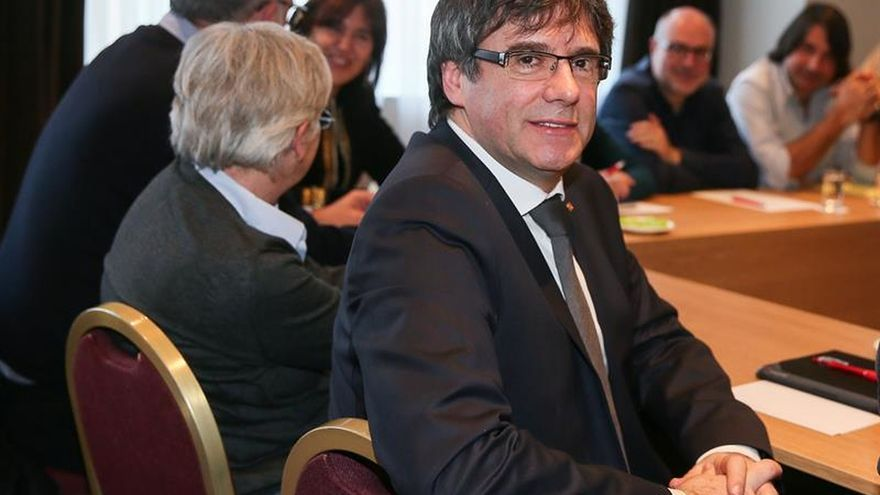 La NV-A reserva una sala para Puigdemont en el Parlamento federal belga