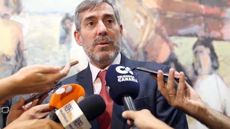 Fernando Clavijo, presidente del Gobierno de Canarias en funciones.