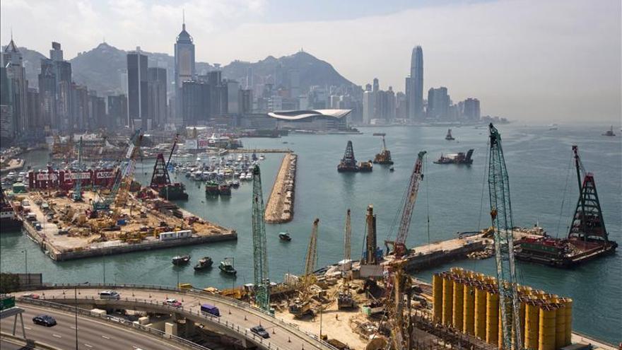 La economía de Hong Kong se ralentiza en el primer trimestre de 2013