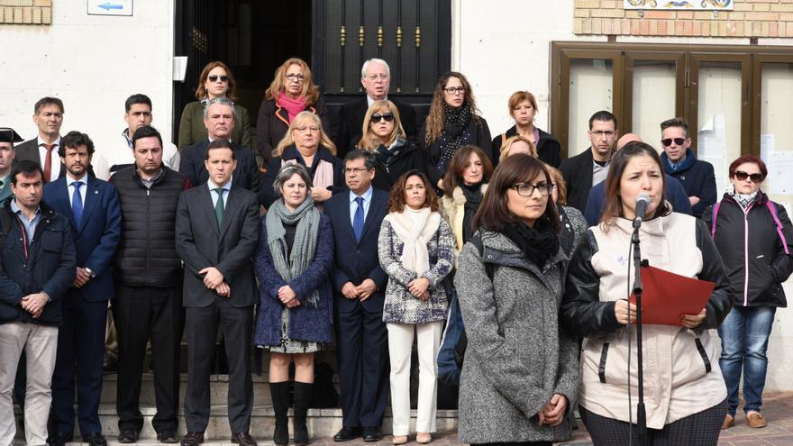 Concentración contra la violencia de género en Seseña (Toledo) / JCCM