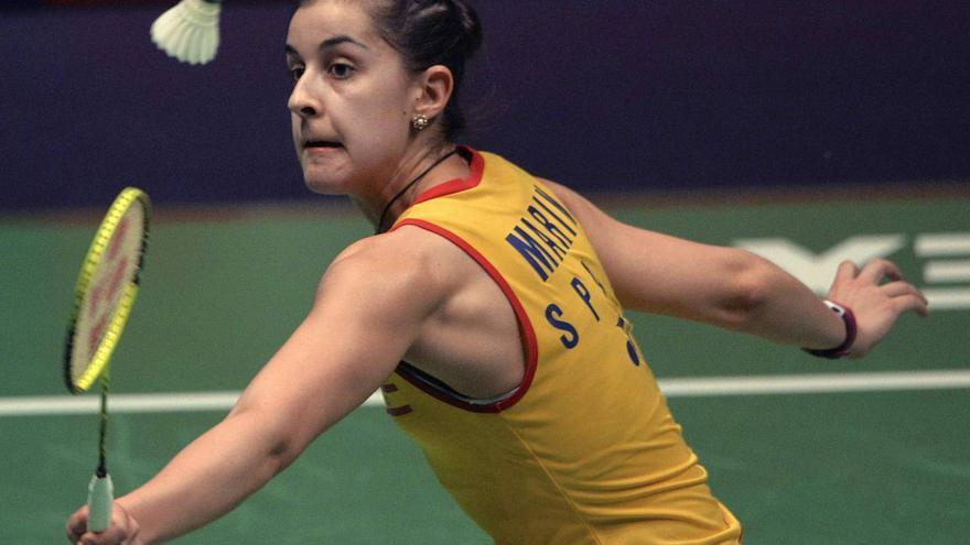 Carolina Marín, la gran campeona onubense.