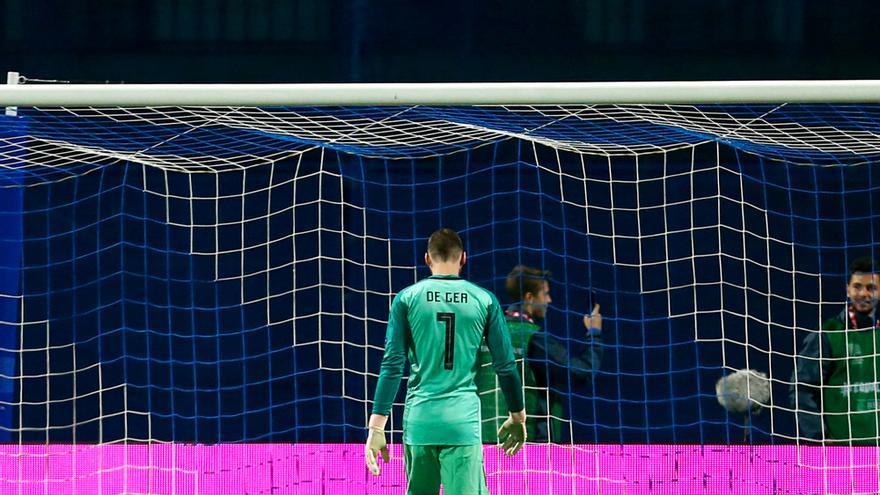 De Gea en el Croacia-España de la UEFA Nations League