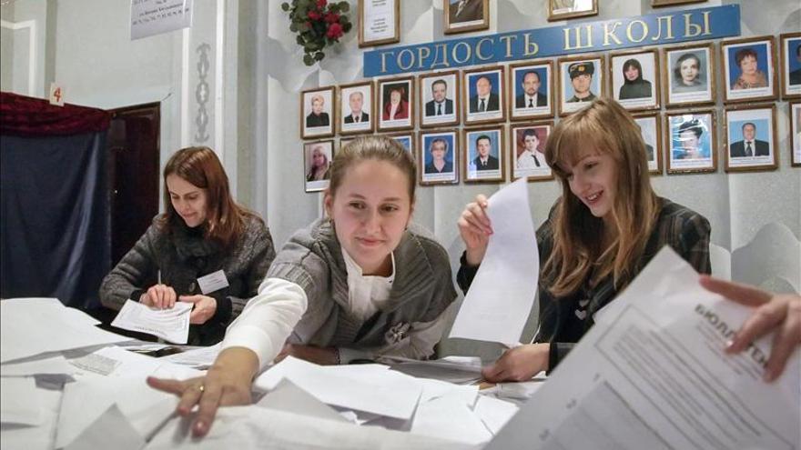 Rusia respeta los resultados de las elecciones separatistas en Ucrania