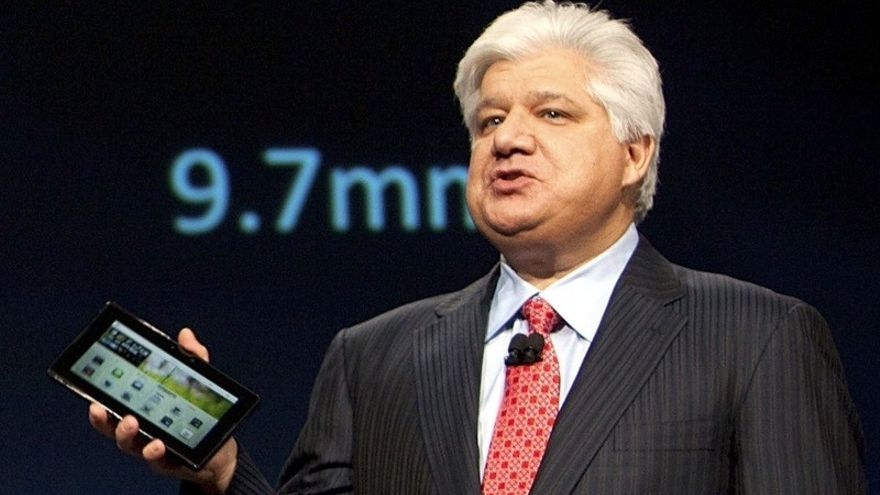 Mike Lazaridis, co-fundador de Blackberry