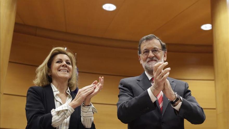 Rajoy advierte de que es imposible y no democrático un Gobierno contra el PP