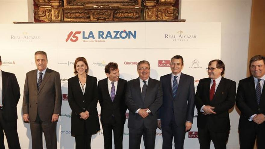La Razón celebra en Sevilla 15 años de su edición de Andalucía