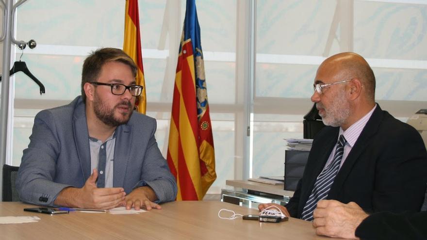 El secretario autonómico de Inclusión Social, Alberto Ibáñez