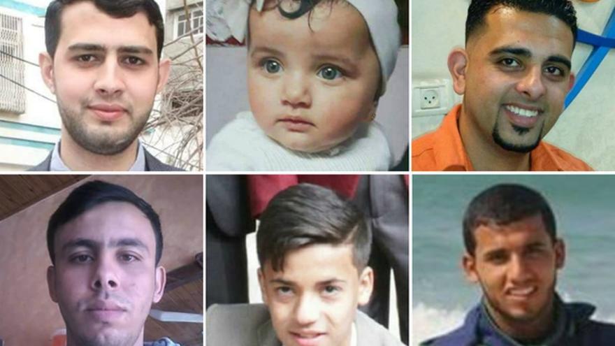 Seis de los palestinos muertos en la Marcha del Retorno.