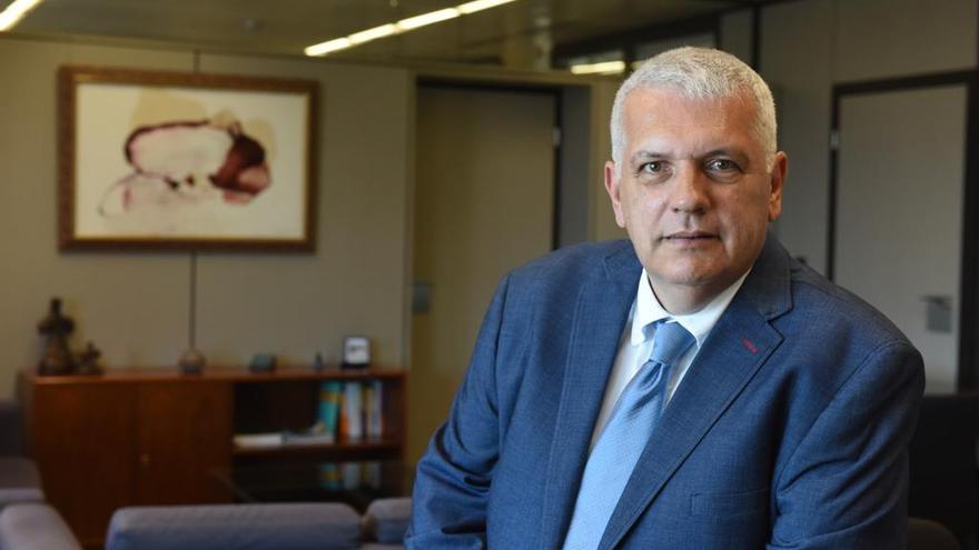 Manuel Marcos Pérez Hernández, viceconsejero de Relaciones con el Parlamento del Gobierno de Canarias.