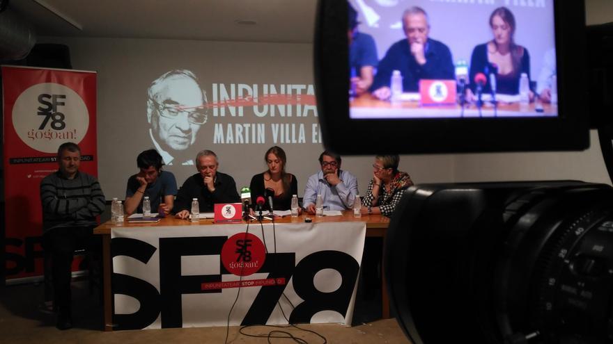 Rueda de prensa del colectivo Sanfermines 78.