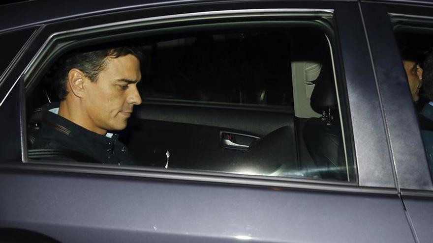 Sánchez comparece a las 20.30 horas en la sede de Ferraz