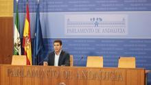 """Cs ve """"esperanzador y a la vez realista"""" el mensaje de Moreno y defiende su """"importante papel"""" en la Junta"""