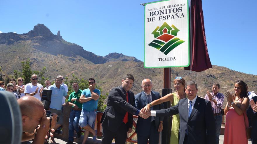Tejeda recibe la distinción de ser uno de 'Los pueblos más bonitos de España'