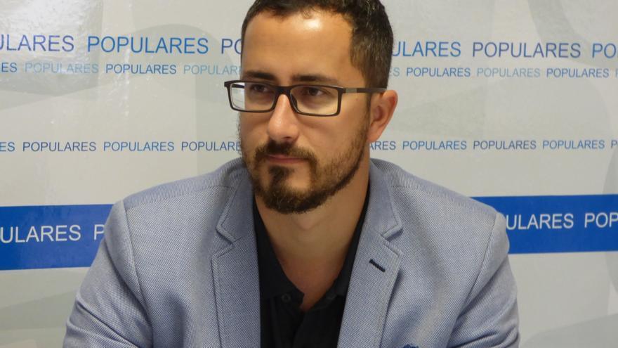 Bernando López, presidente del PP en Santa Cruz de La Palma.