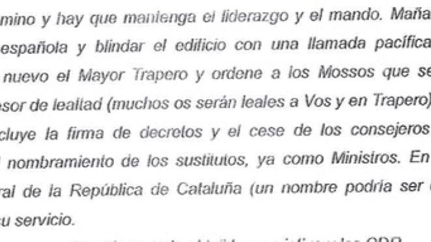 Propuesta de Terradellas a Puigdemont cuando el expresident ya estaba en Bélgica