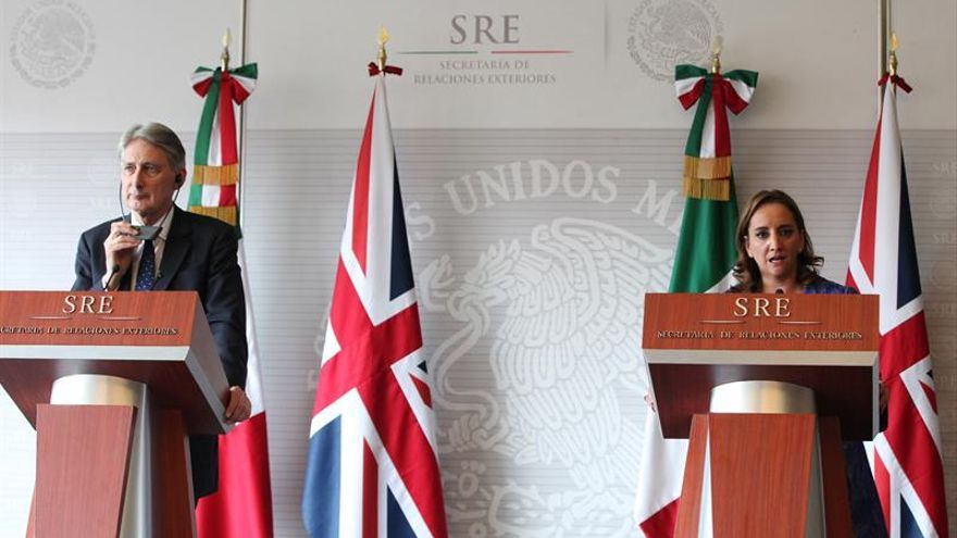 Los cancilleres de México y Reino Unido profundizan relación tras Año Dual