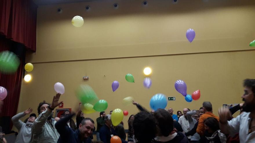 Encuentro municipalista del 10 de febrero de las bases de Ahora Madrid.