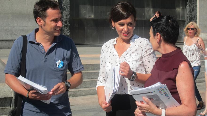 """EH Bildu vuelve a tender la mano a Podemos y PNV, y muestra su disposición a debatir """"para hacer país"""""""