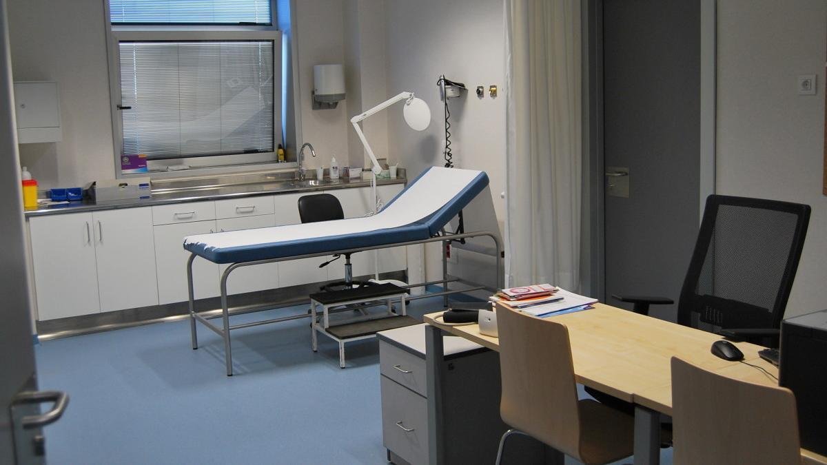 Consultorio en un centro de salud gallego