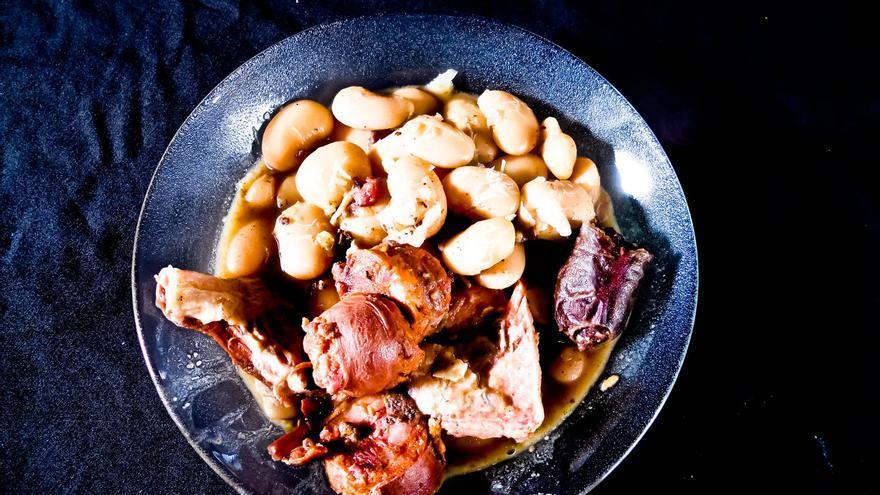 Judiones de la Granja, una de las recetas más emblemáticas de la cocina Castellana (España). VIAJAR AHORA