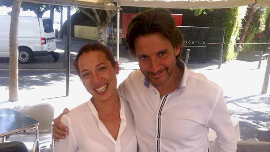 Patricia Hernández y Gustavo Matos.