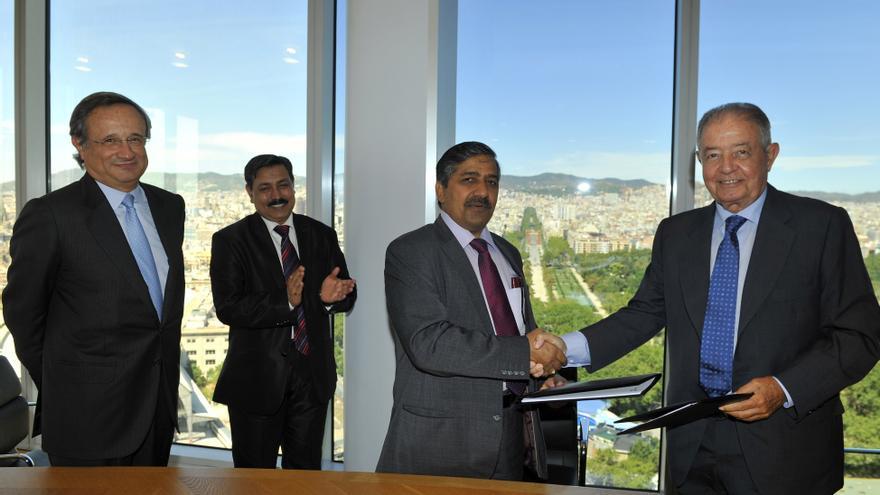 (Ampl.) Gas Natural Fenosa logra un contrato de suministro de gas a India por 1.000 millones