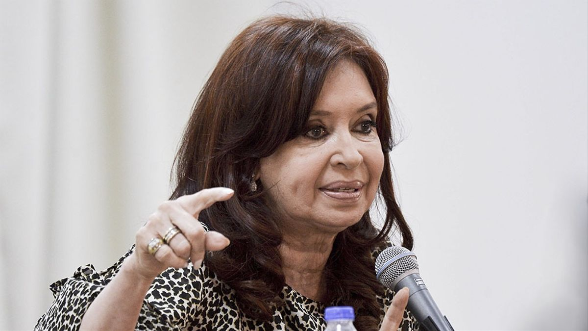 La vicepresidenta Cristina Kirchner, dura con la Corte Suprema. el macrismo sigan bajo la órbita de la justicia federal de Lomas de Zamora.