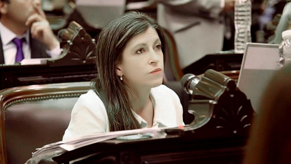 La diputada del Frente de Todos, Fernanda Vallejos, disparó contra todos.