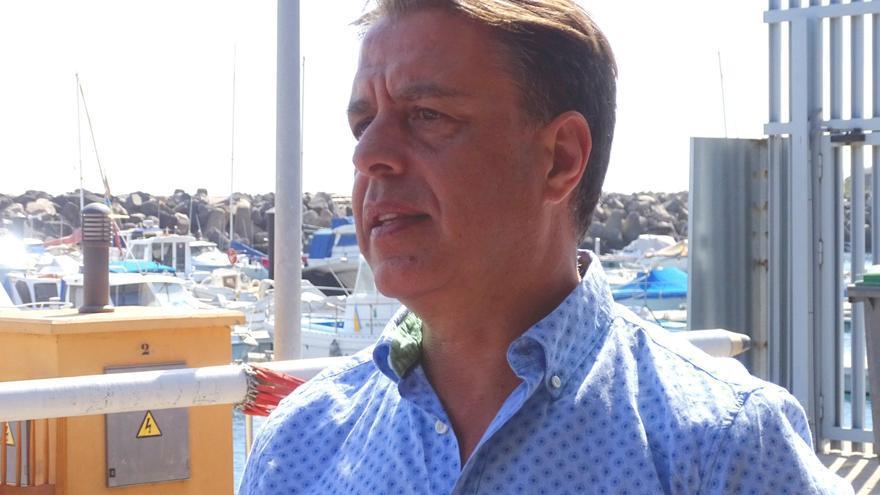 Bernardo Salom, presidente de la Federación de Vela Latina Canaria