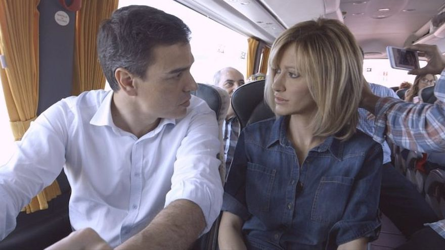 Pedro Sánchez y Susana Griso