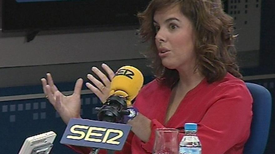 "Saenz de Santamaría dice que estamos tratando de recuperar un país que Rubalcaba ""dejó caer"""