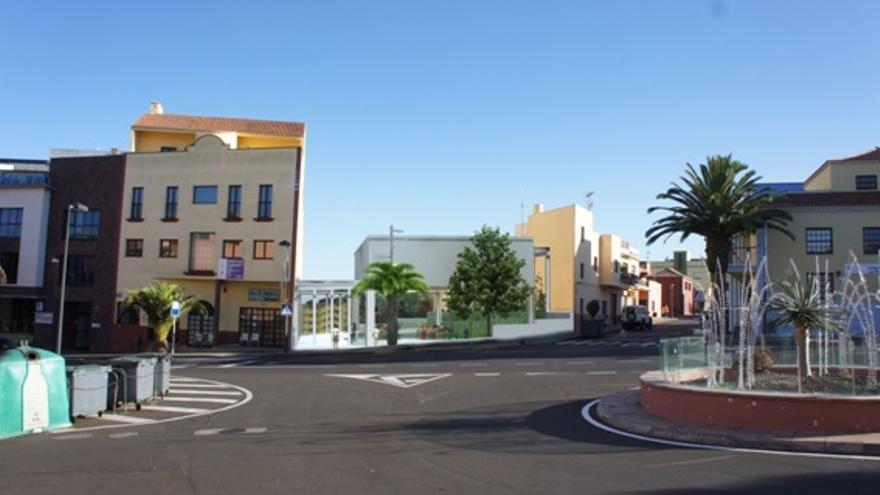 Entorno urbano de El Casco de Barlovento.