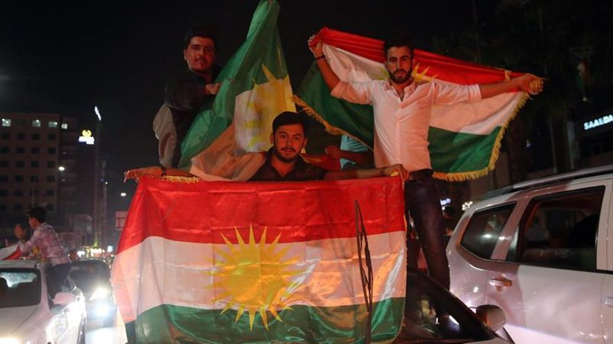"""Kurdistán anuncia la victoria del """"Sí"""" en el referéndum frente a las amenazas de Bagdad"""