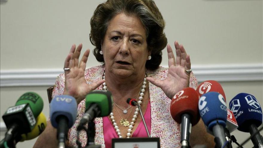 Barberá anuncia que se presentará a la reelección como alcaldesa de Valencia