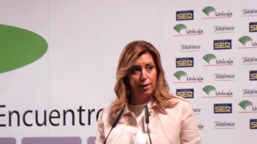 """Díaz dice que los presupuestos andaluces """"incomodan"""" al PP al demostrar que """"se pueden hacer las cosas de otra manera"""""""