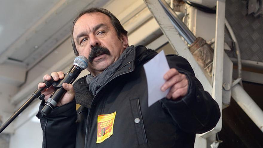 Philippe Martínez. FOTO: Flickr de Pascal.Vandom