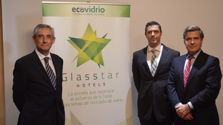Ecovidrio presenta el Programa Glasstar Hotels para  fomentar el reciclado de vidrio en más de 800 hoteles.