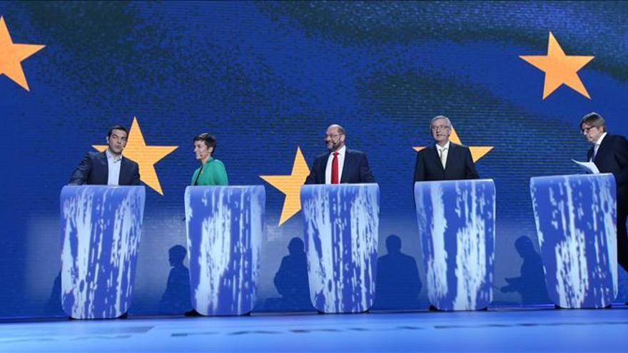 Los candidatos a presidir la Comisión Europea, antes del debate
