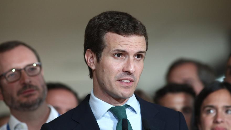 Casado asiste mañana a la Junta Directiva del PP de Madrid con voces críticas que piden Congreso Extraordinario