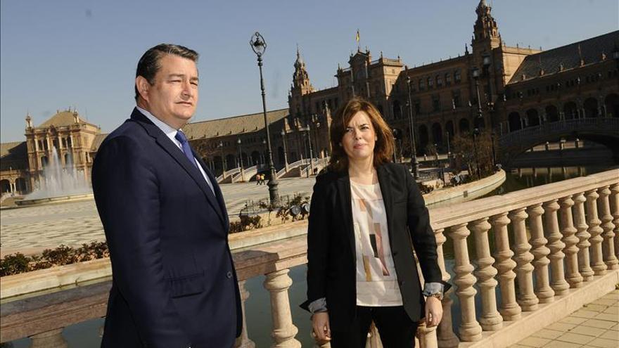 """Santamaría dice que Moreno """"se ha venido arriba, menuda campaña le espera a Susana"""""""