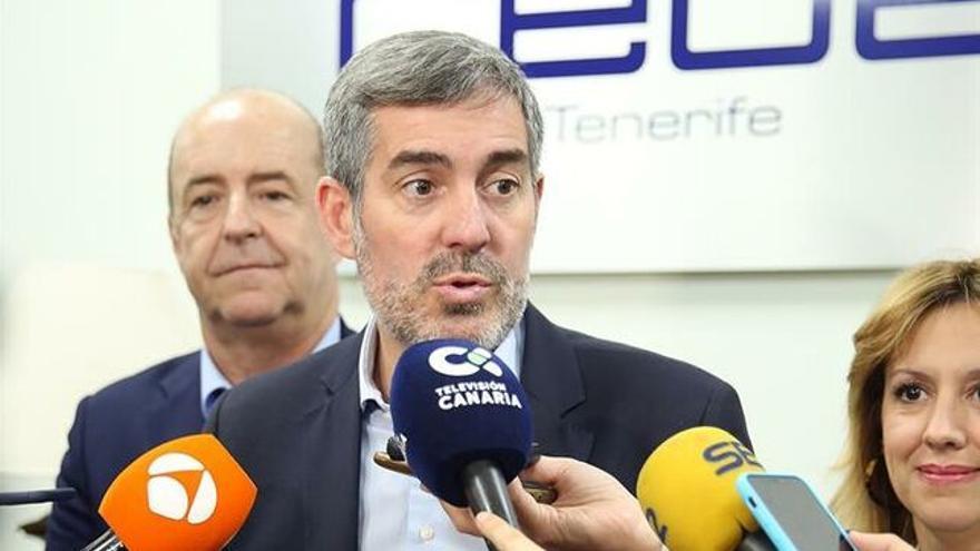 Fernando Clavijo, presidente de Canarias