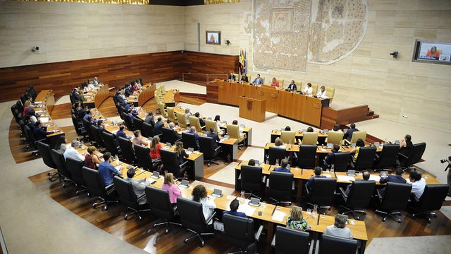 Asamblea Extremadura hemiciclo