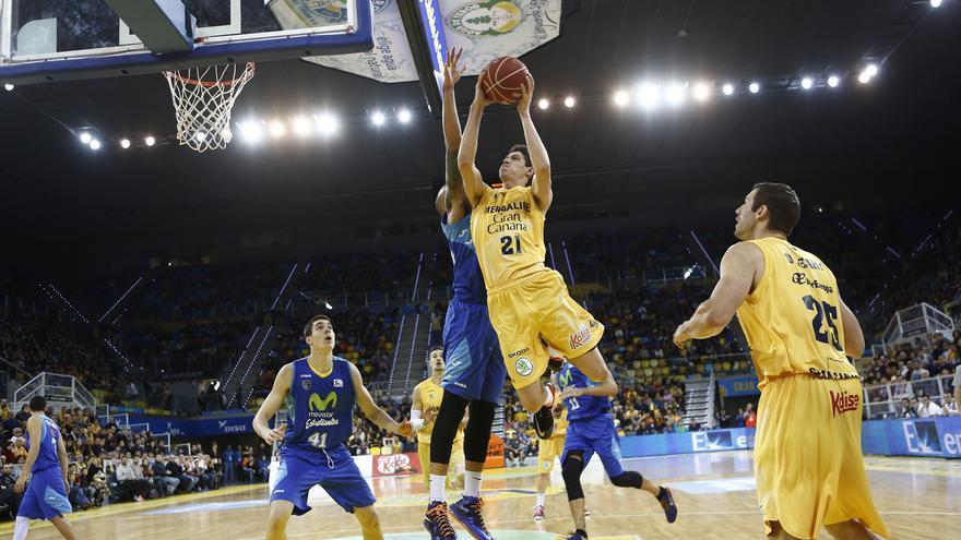 Oriol Paulí en el partido ante el Movistar Estudiantes. ACB Photo / M. Henríquez