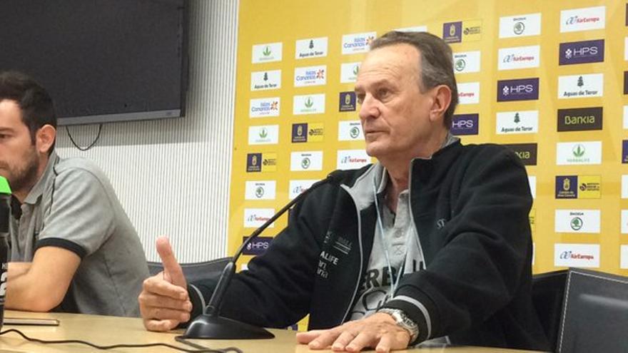El entrenador del Herbalife Gran Canaria, Aíto García Reneses.