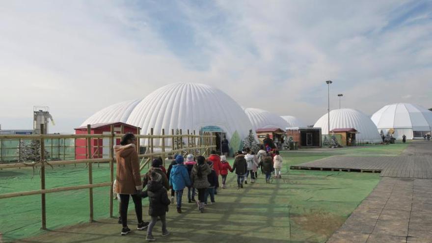 """Capital do Natal"", parque navideño portugués que enerva a turistas españoles"
